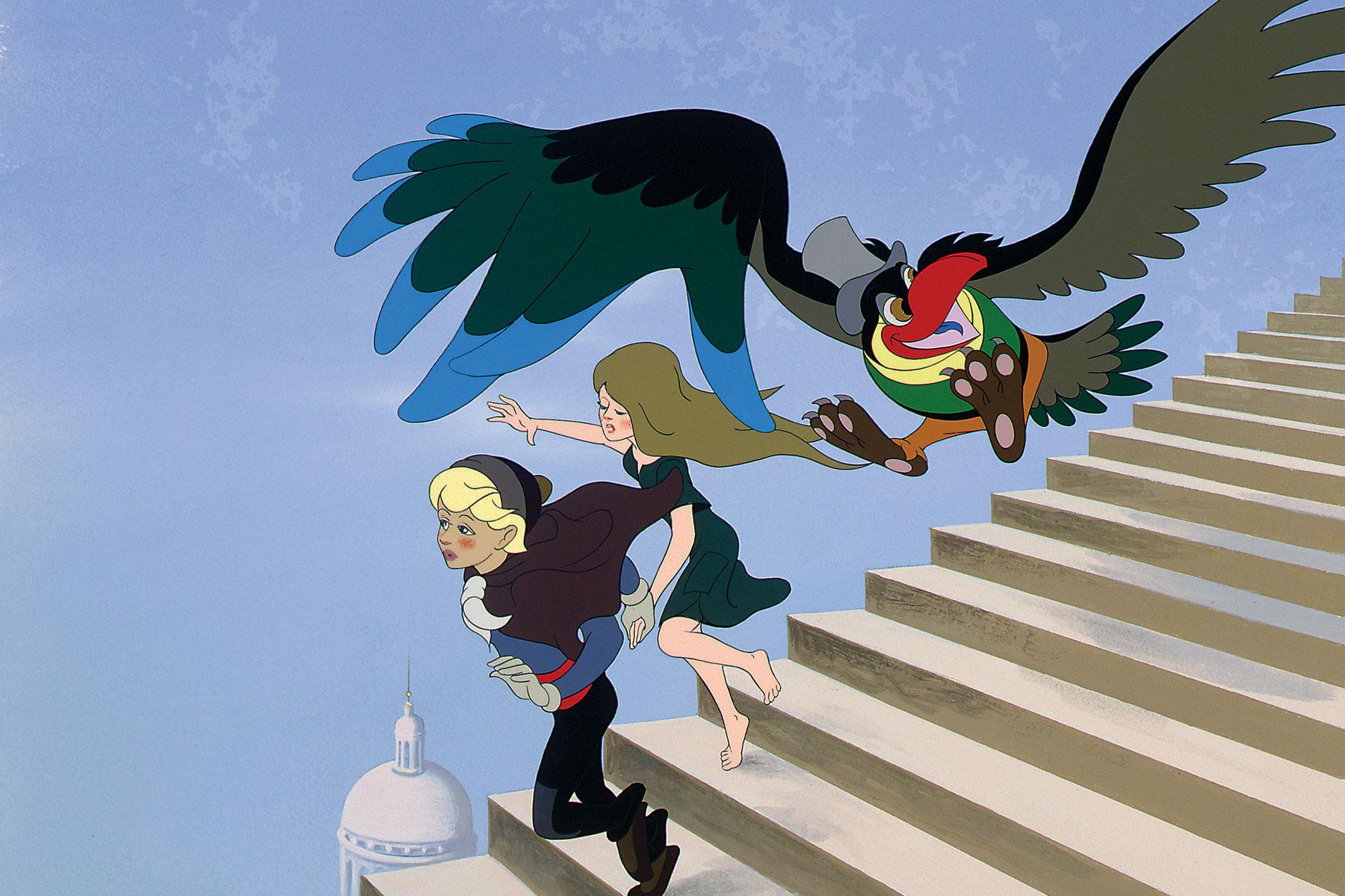 PAUL GRIMAULT - O Rei e o Pássaro