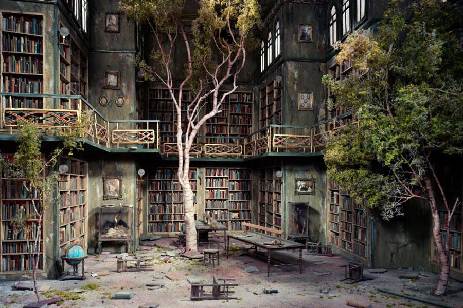 ALEX CASSAL / MÁ-CRIAÇÃO - A Biblioteca do Fim do Mundo