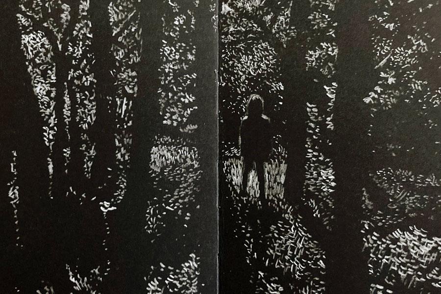 ANTÓNIO JORGE GONÇALVES - Drawing in Dark